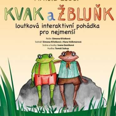 """BAJKA ČESKÝ TĚŠÍN """"KVAK A ŽBLUŇK"""""""